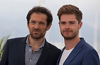 Actor Arieh Wothalter and Director Lukas Dhont at the Girl film photo call at the 71st Cannes Film Festival, Sunday 13th May 2018, Cannes, France. Photo credit: Doreen Kennedy