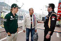 MOTORSPORT - F1 2013 - GRAND PRIX OF MONACO / GRAND PRIX DE MONACO - MONTE CARLO (MON) - 23 TO 26/05/2013 - PHOTO FRANCOIS FLAMAND / DPPI - PIC CHARLES (FR) CATERHAM RENAULT CT03 - AMBIANCE - PORTRAIT PANIS OLIVIER (FR) COACH OF CHARLES PIC BOULLIER ERIC (FRA) - LOTUS F1 GP PRINCIPAL - DIRECTEUR TEAM - AMBIANCE PORTRAIT