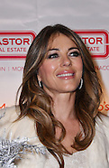 London - Elizabeth Hurley Switches On Christmas Lights - 08 Dec 2016