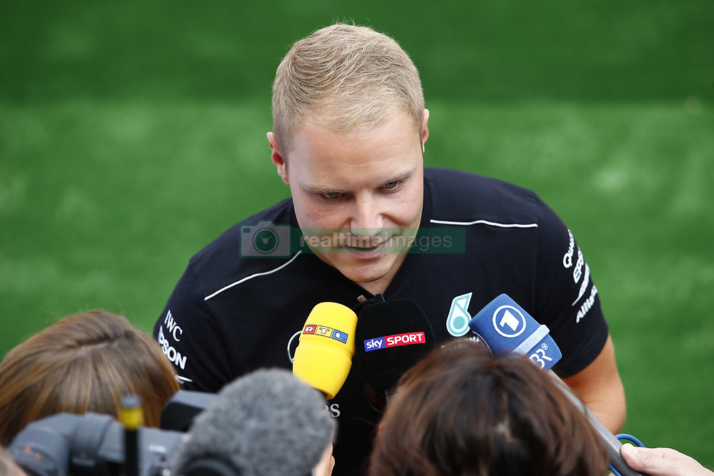 August 24, 2017 - Spa-Francorchamps, Belgium - Motorsports: FIA Formula One World Championship 2017, Grand Prix of Belgium, ..#77 Valtteri Bottas (FIN, Mercedes AMG Petronas F1 Team) (Credit Image: © Hoch Zwei via ZUMA Wire)