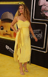 May 2, 2019 - New York City, New York, U.S. - Actor BLAKE LIVELY attends the US premiere of Pokemon Detective Pikachu held at Military Island Times Square. (Credit Image: © Nancy Kaszerman/ZUMA Wire)