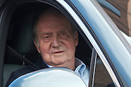 030913 king juan carlos leaves hospital