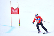 """Schladming, Austria - 2017 March 19: Magdalena Podlasinska from Poland (273) competes in Alpine Skiing Competition while Special Olympics World Winter Games Austria 2017 on the """"Sepp-Walcher-Downhill""""<br /> (Slope 32) near the """"Tauernalm"""" in Rohrmoos on March 19, 2017 in Schladming, Austria.<br /> <br /> Mandatory credit:<br /> Photo by © Adam Nurkiewicz / Mediasport<br /> <br /> Adam Nurkiewicz declares that he has no rights to the image of people at the photographs of his authorship.<br /> <br /> Picture also available in RAW (NEF) or TIFF format on special request.<br /> <br /> Any editorial, commercial or promotional use requires written permission from the author of image.<br /> <br /> Image can be used in the press when the method of use and the signature does not hurt people on the picture."""