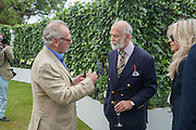 MARK SHAND; PRINCE MICHAEL OF KENT; CLARISSA NADLER;  The Cartier Style et Luxe during the Goodwood Festivlal of Speed. Goodwood House. 1 July 2012.