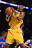 Lakers vs Pistons 11-10-06