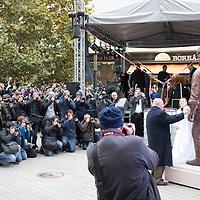 Bud Spencer statue in Budapest