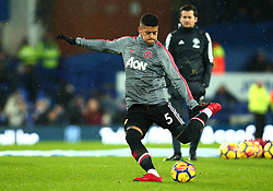 Marcos Rojo of Manchester United - Mandatory by-line: Robbie Stephenson/JMP - 01/01/2018 - FOOTBALL - Goodison Park - Liverpool, England - Everton v Manchester United - Premier League