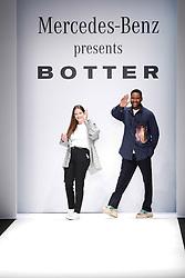 July 3, 2018 - Berlin, Germany - Botter after their show during the first day of MBFW Berlin Fashion Weak in the ewerk showspace in Berlin, Germany on July 3, 2018. (Credit Image: © Dominika Zarzycka/NurPhoto via ZUMA Press)