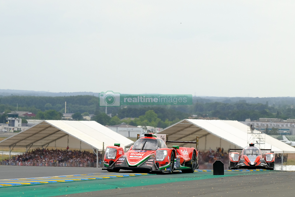 June 16, 2018 - Le Mans, Sarthe, France - Dragonspeed ORECA 07 Gibson Driver ROBERTO GONZALEZ (MEX) in action during the 86th edition of the 24 hours of Le Mans 2nd round of the FIA World Endurance Championship at the Sarthe circuit at Le Mans - France (Credit Image: © Pierre Stevenin via ZUMA Wire)