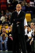 25 November 2005:  Monmouth head coach Dave Calloway in MU's loss to South Carolina 56-62 at the Great Alaska Shootout in Anchorage, Alaska