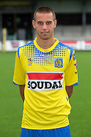 Westerlo's Kenneth Schuermans pictured during the 2015-2016 season photo shoot of Belgian first league soccer team KVC Westerlo, Monday 13 July 2015 in Westerlo.