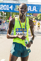 Boston Athletic Association 10K road race: 2-time winner Stephen Sambu, Kenya