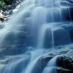 Cloudland Falls on the Falling Waters Trail. Waterfall.  White Mountain N.F., NH