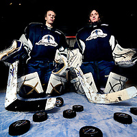 Sioux Falls Stampede goalies Juho Olkinuora and Stephon Williams lead the Stampede into the USHL playoff stretch drive.