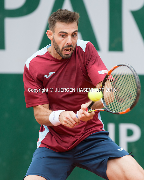 Marcel Granollers (ESP)<br /> <br /> Tennis - French Open 2016 - Grand Slam ITF / ATP / WTA -  Roland Garros - Paris -  - France  - 24 May 2016.
