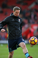 Football - 2016 / 2017 Premier League - Southampton vs. Middlesbrough<br /> <br /> Grant Leadbitter of Middlesbrough before kick off at St Mary's Stadium Southampton England<br /> <br /> COLORSPORT/SHAUN BOGGUST