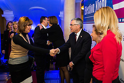 Election Night Party, on November 8, 2016 in Ljubljana, Slovenia. Photo by Ziga Zupan / Sportida