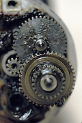 detail of gears