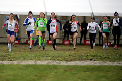 Marusa Mismas of Slovenia #98 competes in the U23 Category of Balkan CC Championships 2015, on November 22, 2015 in Vrbovec, Croatia. Photo by Ales Hostnik / Sportida
