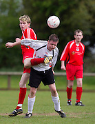 O`Neill Shield Final at MDL_Navan 09/05/2010.Knightsbrook v Rathkenny Rovers.Aidan Carry (Rathkenny) & Clayton Keegan (Knightsbrook).Photo: David Mullen /www.cyberimages.net
