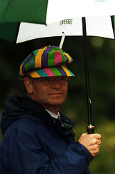 Jeffrey Archer taken in July 1998 at his summer garden party at his home in Grantchester, Cambridge. Photo by Andrew Parsons / i-images..