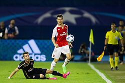 Laurent Koscielny #6 of Arsenal F.C. during football match between GNK Dinamo Zagreb, CRO and Arsenal FC, ENG in Group F of Group Stage of UEFA Champions League 2015/16, on September 16, 2015 in Stadium Maksimir, Zagreb, Croatia. Photo by Urban Urbanc / Sportida