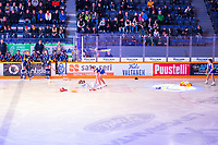 2019-11-27 | Rauma, Finland : Teddy bear toss after Lukko first goal during the game between Lukko-Pelicans in Kivikylän Areena ( Photo by: Elmeri Elo | Swe Press Photo )