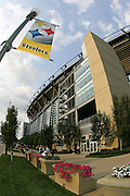 PITTSBURGH - SEPTEMBER 7:  A general stadium exterior prior to the Pittsburgh Steelers game against the Miami Dolphins at Heinz Field on September 7, 2006 in Pittsburgh, Pennsylvania. The Steelers defeated the Dolphins 28-17. ©Paul Anthony Spinelli