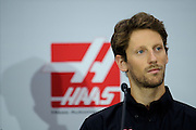 September 29, 2015: Romain Grosjean, Haas Formula 1 team.