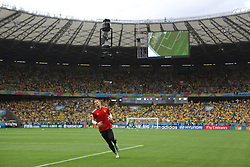 08.07.2014, Mineirao, Belo Horizonte, BRA, FIFA WM, Brasilien vs Deutschland, Halbfinale, im Bild Manuel Neuer // during Semi Final match between Brasil and Germany of the FIFA Worldcup Brazil 2014 at the Mineirao in Belo Horizonte, Brazil on 2014/07/08. EXPA Pictures © 2014, PhotoCredit: EXPA/ Eibner-Pressefoto/ Cezaro<br /> <br /> *****ATTENTION - OUT of GER*****