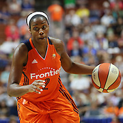 UNCASVILLE, CONNECTICUT- JUNE 3:   Camille Little #2 of the Connecticut Sun in action during the Atlanta Dream Vs Connecticut Sun, WNBA regular season game at Mohegan Sun Arena on June 3, 2016 in Uncasville, Connecticut. (Photo by Tim Clayton/Corbis via Getty Images)