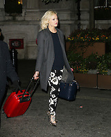 Fearne Cotton, The Langham Hotel, London UK, 20 February 2014, Photo by Richard Goldschmidt