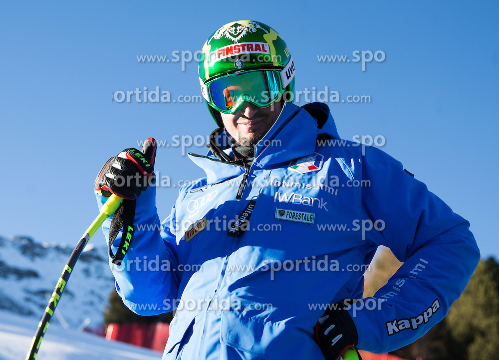 26.12.2015, Deborah Compagnoni Rennstrecke, Santa Caterina, ITA, FIS Ski Weltcup, Santa Caterina, Abfahrt, Herren, 1. Training, Streckenbesichtigung, im Bild Dominik Paris (ITA) // Dominik Paris of Italy during the course inspection of 1st practice run of men's Downhill of the Santa Caterina FIS Ski Alpine World Cup at the Deborah Compagnoni Course in Santa Caterina, Italy on 2015/12/26. EXPA Pictures © 2015, PhotoCredit: EXPA/ Johann Groder