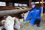 Teppo Heikkilä; organic farmer on Heikkilän tila.