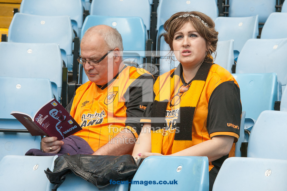 Hull City fans begin to take their places prior to the Sky Bet Championship match at Villa Park, Birmingham<br /> Picture by Matt Wilkinson/Focus Images Ltd 07814 960751<br /> 05/08/2017