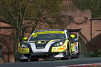 Century Motorsport #19 Ginetta G55 GT3 Parker Chase/Charlie Robertson GT3 Silver during British GT Championship as part of the BRDC British F3/GT Championship Meeting at Oulton Park, Little Budworth, Cheshire, United Kingdom. April 15 2017. World Copyright Peter Taylor/PSP.  Copy of publication required for printed pictures.  Every used picture is fee-liable. http://archive.petertaylor-photographic.co.uk