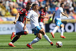 "Foto LaPresse/Filippo Rubin<br /> 27/04/2019 Bologna (Italia)<br /> Sport Calcio<br /> Bologna - Empoli - Campionato di calcio Serie A 2018/2019 - Stadio ""Renato Dall'Ara""<br /> Nella foto: ISMAEL BENNACER (EMPOLI)<br /> <br /> Photo LaPresse/Filippo Rubin<br /> April 27, 2019 Bologna (Italy)<br /> Sport Soccer<br /> Bologna vs Empoli - Italian Football Championship League A 2017/2018 - ""Renato Dall'Ara"" Stadium <br /> In the pic: ISMAEL BENNACER (EMPOLI)"