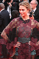 Karlie Kloss at the the Grace of Monaco gala screening and opening ceremony red carpet at the 67th Cannes Film Festival France. Wednesday 14th May 2014 in Cannes Film Festival, France.