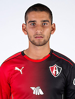 Mexico League - BBVA Bancomer MX 2016-2017 / <br /> Rojinegros - Club Atlas de Guadalajara Fc - Mexico / <br /> Gaddi Axel Aguirre Ledesma
