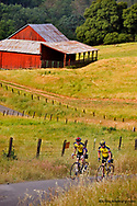 Road Bicycling on Turner Road near Amador City California model released