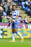 Reading goalscorer Reading FC striker Gareth McCleary during the Sky Bet Championship match between Reading and Cardiff City at the Madejski Stadium, Reading, England on 19 March 2016. Photo by Mark Davies.