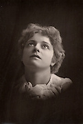 Olga Brandon (b1865) Australian-born actress.  Created the role of Vashti Dethic in the play 'Judah' by Henry Arthur Jones at the Shaftesbury Theatre, London, 1890.  From 'The Cabinet Portrait Gallery' (London, 1890-1894).  Woodburytype after photograph by W & D Downey.
