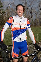Virginia Cavaliers Adam Winck..Members of the University of Virginia Cycling Team met at Reeds Gap on the Blue Ridge Parkway in Virginia on April 9, 2007 for a team photo shoot.