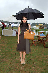 Actress MARTINE McCUTCHEON at the 2005 Cartier International Polo between England & Australia held at Guards Polo Club, Smith's Lawn, Windsor Great Park, Berkshire on 24th July 2005.<br /><br />NON EXCLUSIVE - WORLD RIGHTS