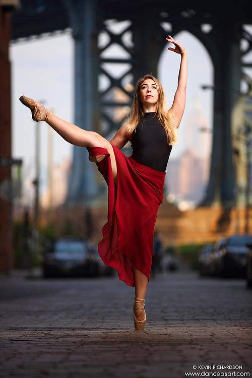 Dance As Art Streets of Dumbo Series with dancer Hannah Bush