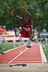 PRICE Markeith, USA, Long Jump, T13, 2013 IPC Athletics World Championships, Lyon, France