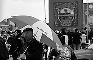 Frickley and Askern Main Branch banners. 1991 Yorkshire Miners Gala. Doncaster.