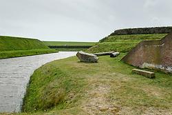 Fort De Schans from 1574, Texel, Netherlands. Natuurmonumenten