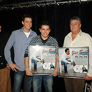 NLD/Volendam/20061113 - Uitreiking Platina cd's aan Jan Smit, Jaap en Aloys Buis