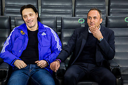 Darko Milanic, head coach of NK Maribor during football match between NK Olimpija Ljubljana and NK Maribor in Round #25 of Prva Liga Telekom Slovenije 2017/18, on March 31, 2018 in SRC Stozice, Ljubljana, Slovenia. Photo by Ziga Zupan / Sportida